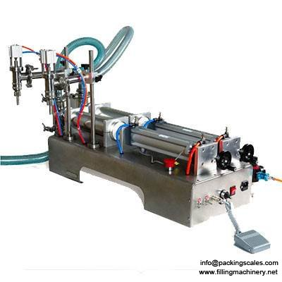 Double Heads Liquid Filling Machine Price