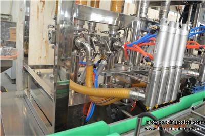 motor oil filling machine line